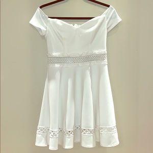 B. Darlin White Dress